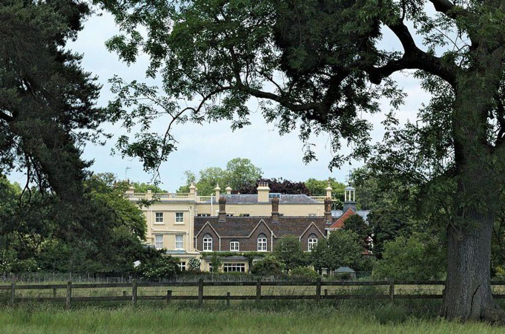 G Houston Childwickbury Manor House