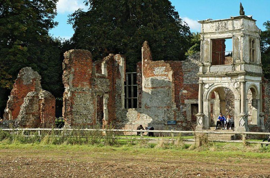 Gary Houston Ruins of Old Gorhambury House